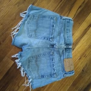 American eagle low-rise jean shorts